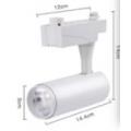 LED Display Spot light - ATD 12W COB LEDs