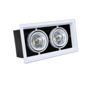 LED Bean Gall Light 16W Square -Recessed